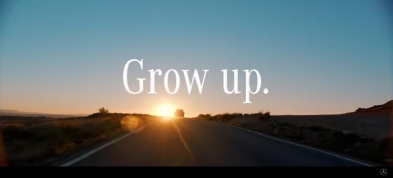 grow up