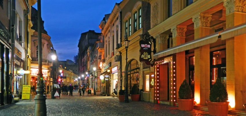 New Yorker's first time in Bucharest